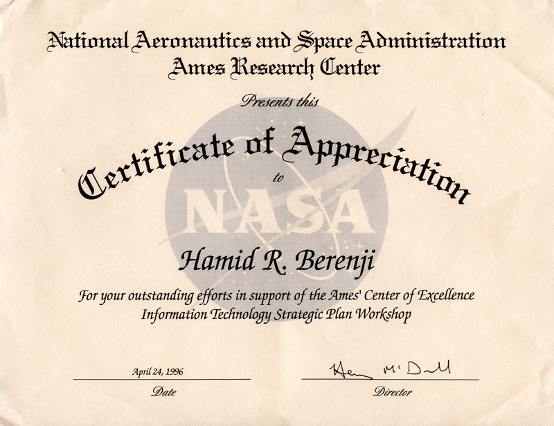 Iis corp print friendly page nasa certificate of appreciation for outstanding efforts in support of ames center of excellence in information technology strategic plan workshop yelopaper Gallery